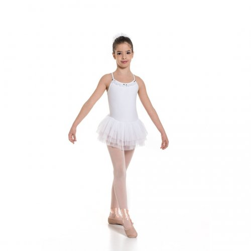 Leotard dress for girls Sheddo Model 1111C