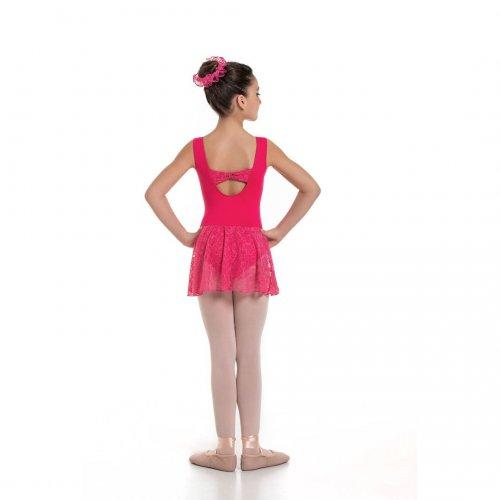 Leotard dress for girls Sheddo Model 1124C-2