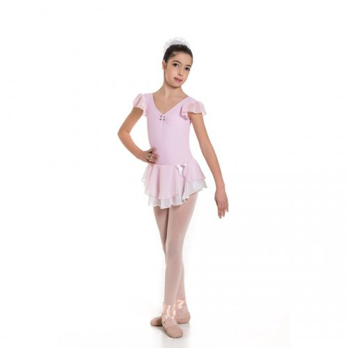 Leotard dress for girls Sheddo Model 1122C