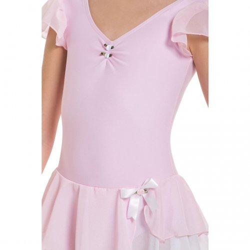 Leotard dress for girls Sheddo Model 1122C-2