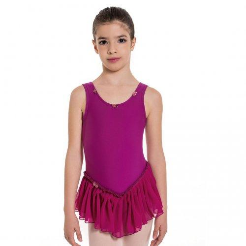 Leotard dress for girls Sheddo Model 1114C