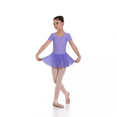 Leotard dress for girls Sheddo Model 162C