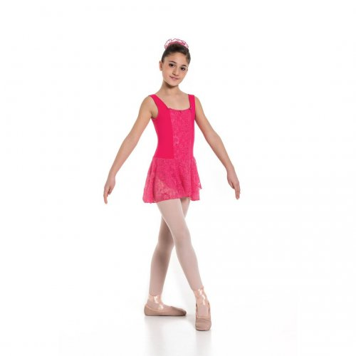 Leotard dress for girls Sheddo Model 1124C