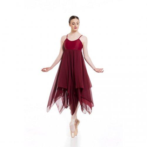 Leotard dress for ladies Sheddo model LZ419BW-