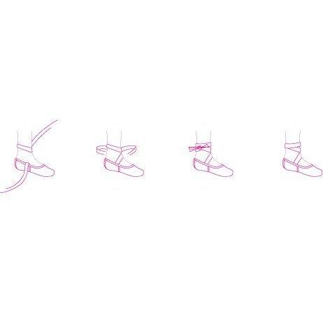 Pointe shoes Merlet model Cloé-1
