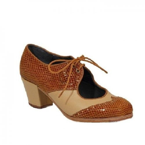 https://www.flamencista.com/Professional Flamenco Shoes Model Chapin Serpiente