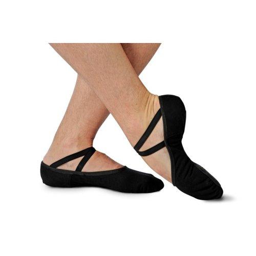 Split sole soft ballet shoe for men Merlet model Everest