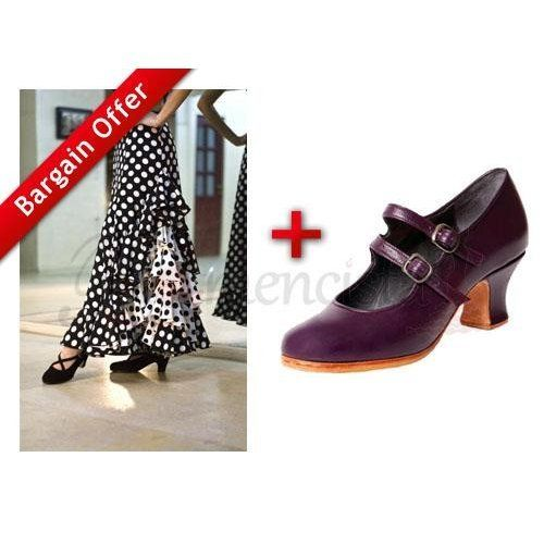 Professional Flamenco Shoes Express & Performance skirt + Extra 15% discount!