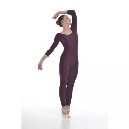 A ¾ sleeved unitard for ladies Sheddo model 343W