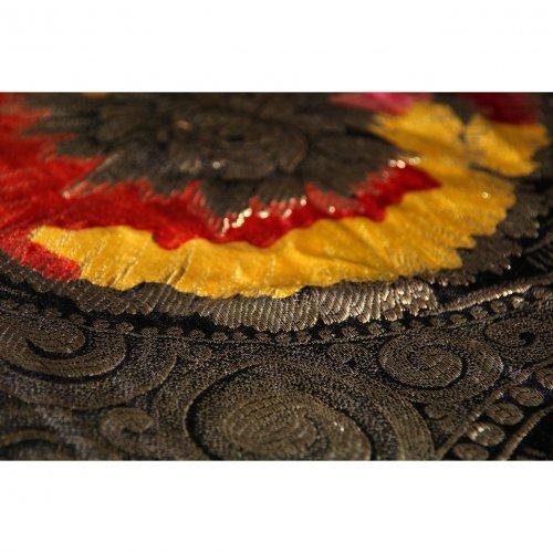 Vintage Silk Shawl 115cm x 105cm-