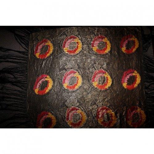 Vintage Silk Shawl 115cm x 105cm